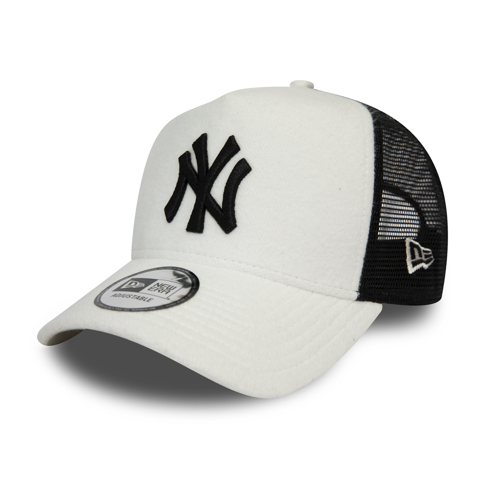 Casquette camionneur blanche A-Frame New York Yankees