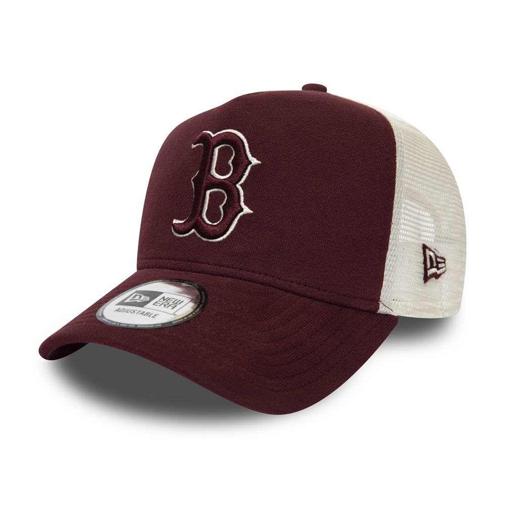 Boston Red Sox Maroon A-Frame Trucker