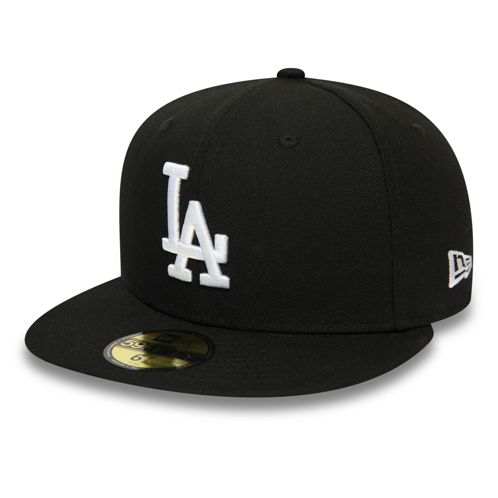 Los Angeles Dodgers Black 59FIFTY Cap