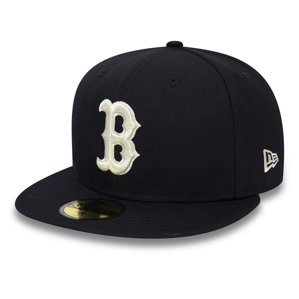 Gorra 59FIFTY azul marino de los Boston Red Sox