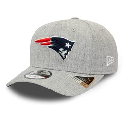 Gorra New England Patriots Heather Base Grey Stretch Snap 9FIFTY, gris