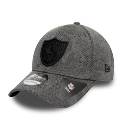 Oakland Raiders Engineered Plus Grey 39THIRTY Cap