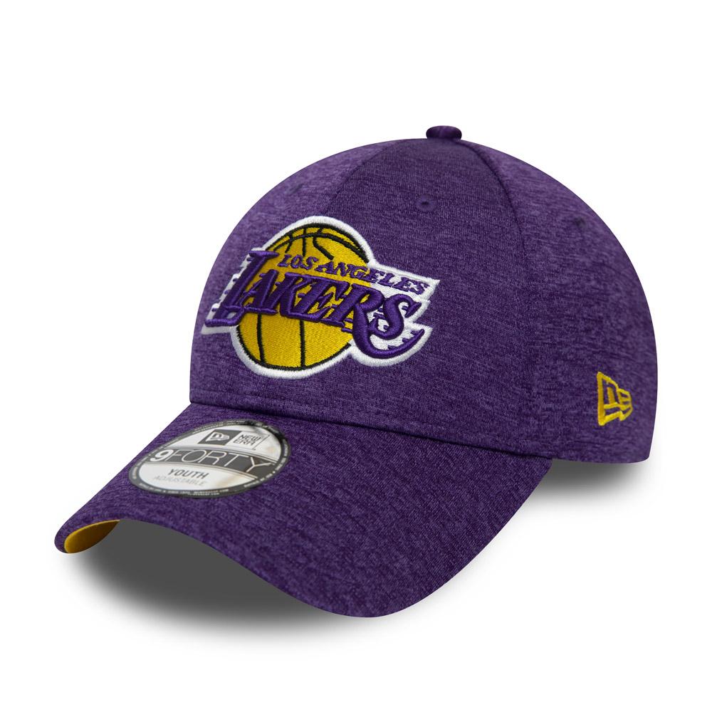 "Los Angeles Lakers ""Shadow Tech""9FORTY-Kinderkappe in Violett"
