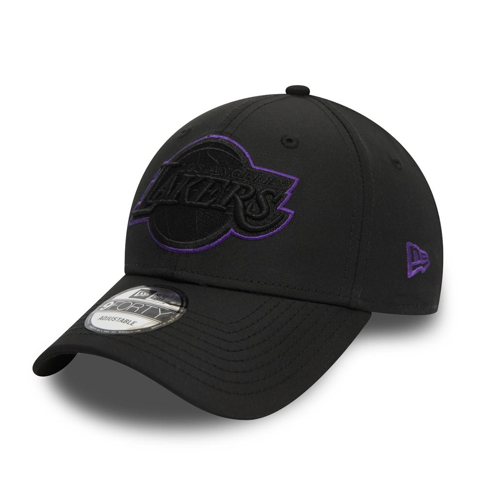 Los Angeles Lakers Colour Pop Black 9FORTY-Kappe