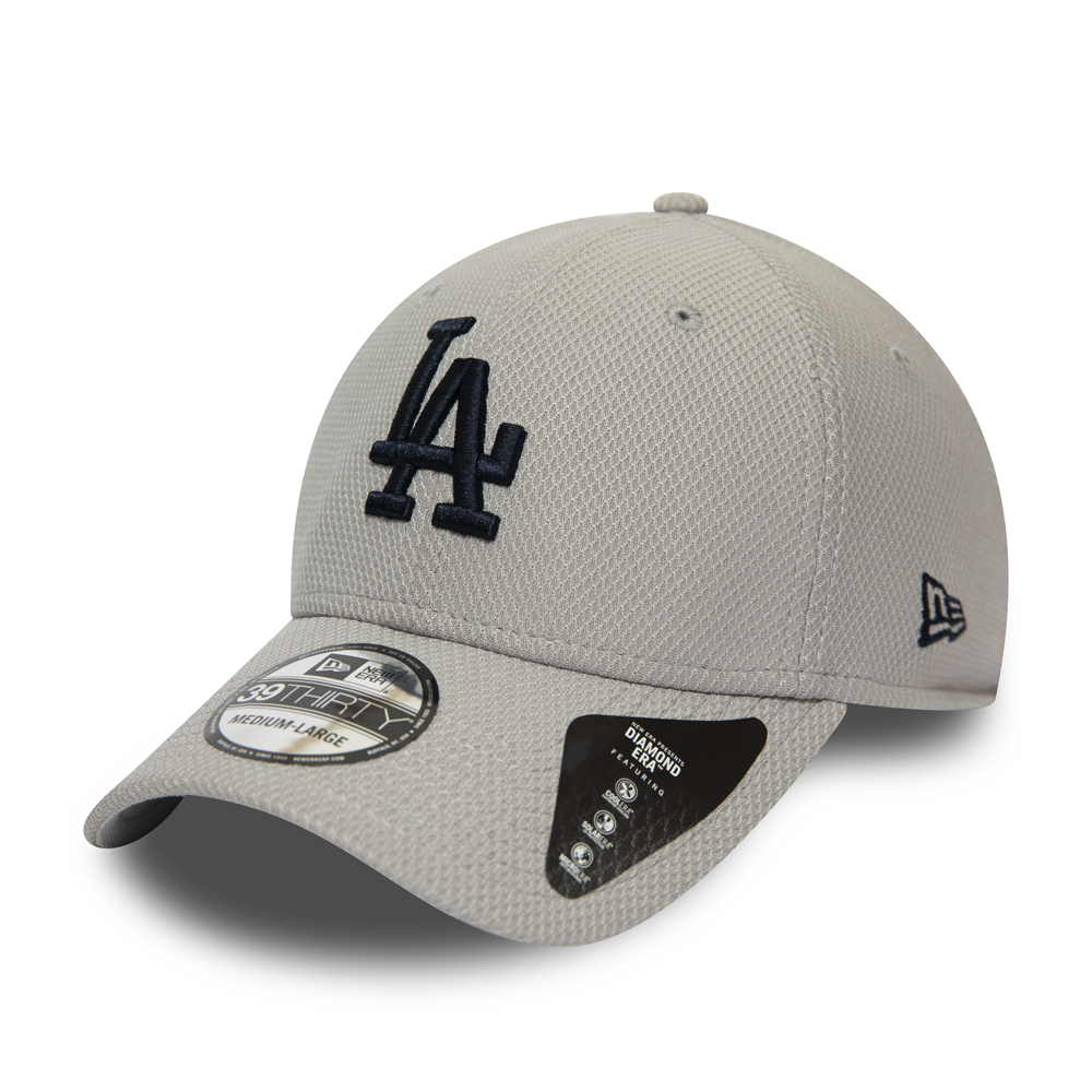 Los Angeles Dodgers Diamond Era Grey 39THIRTY Cap