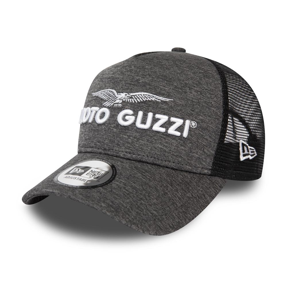 Casquette camionneur grise A-Frame Moto Guzzi