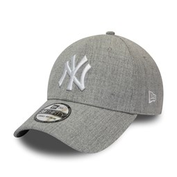 New York Yankees Heather Grey 39THIRTY Cap