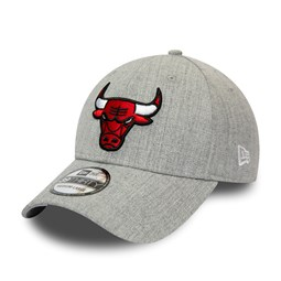 Chicago Bulls Heather Grey 39THIRTY Cap