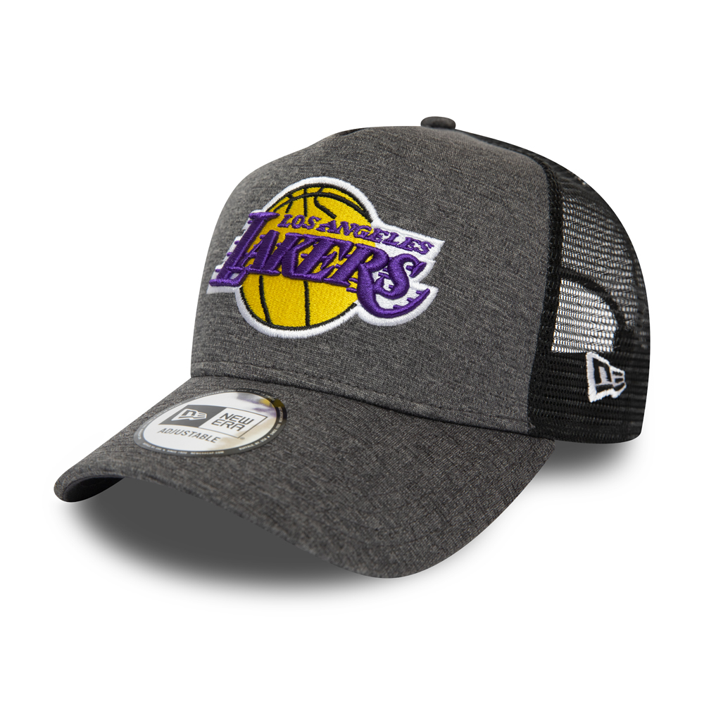 Gorra trucker Los Angeles Lakers Shadow Tech A-Frame, gris