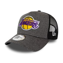 Los Angeles Lakers Shadow Tech Grey A-Frame Trucker