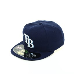 Gorra Tampa Bay Rays Authentic 59FIFTY, azul