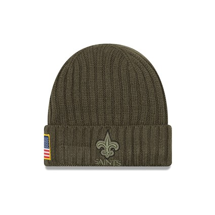 New Orleans Saints Youth Brown Beanie