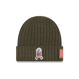 Miami Dolphins Youth Brown Beanie