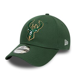 Milwaukee Bucks Paris Green 9FORTY Cap