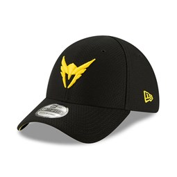 Casquette noire 39THIRTY Los Angeles Valiant Overwatch League