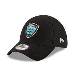 Gorra London Spitfire Overwatch League 39THIRTY, negro