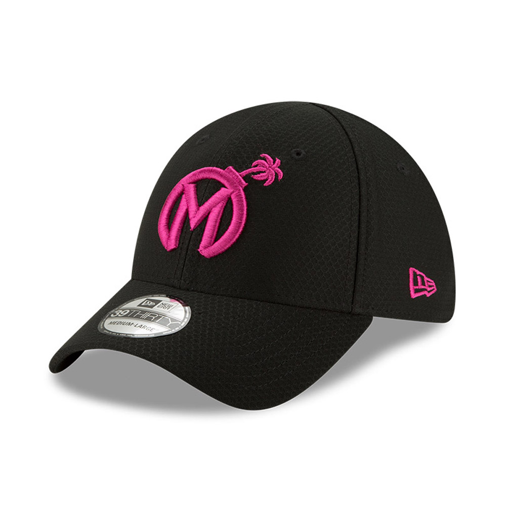 Gorra Florida Mayhem Overwatch League 39THIRTY, negro