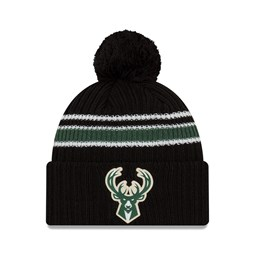 Milwaukee Bucks Back Half Black Knit