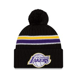 Los Angeles Lakers Back Half Black Knit