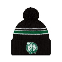 Boston Celtics Back Half Black Knit