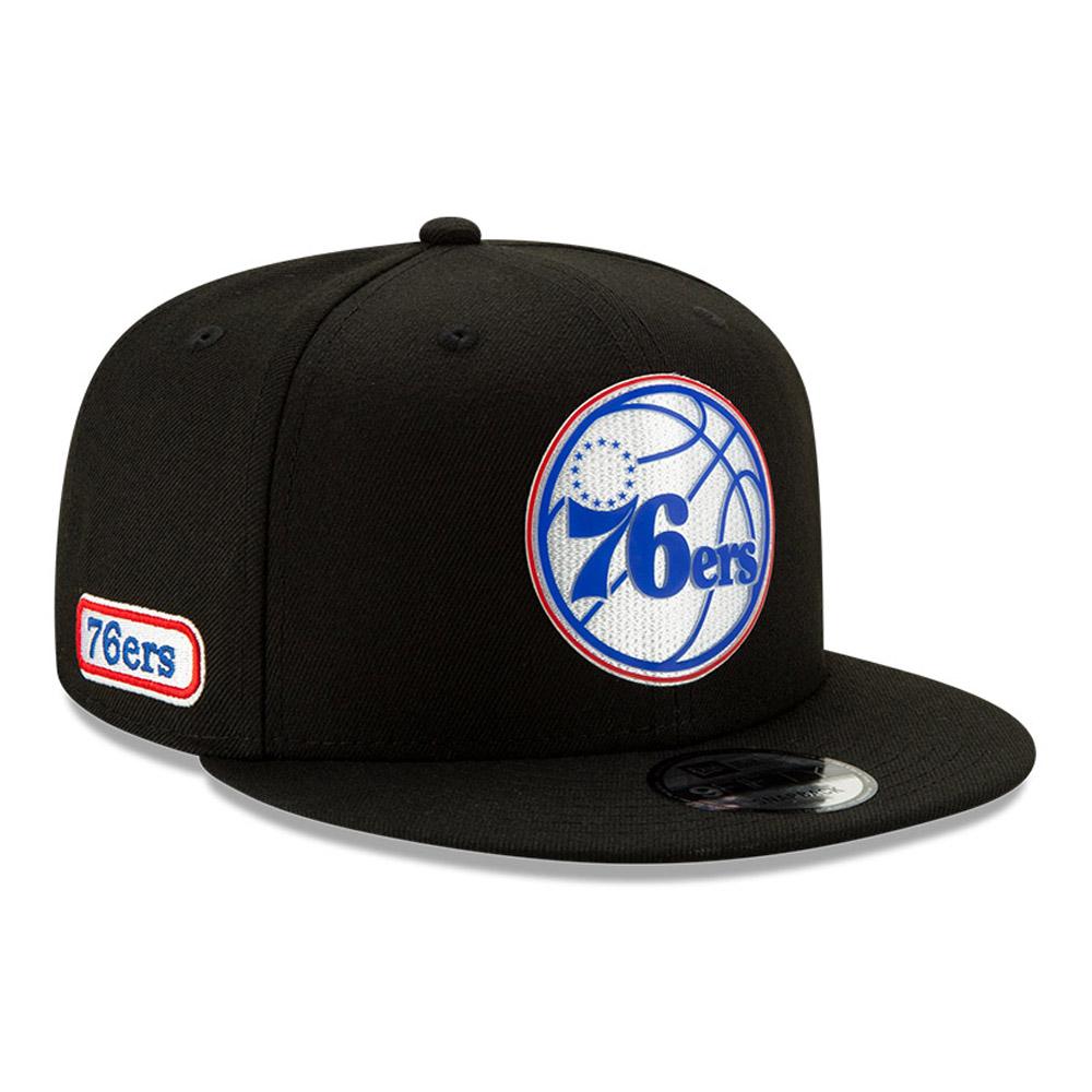 Cappellino 9FIFTY Back Half dei Philadelphia 76ERS nero