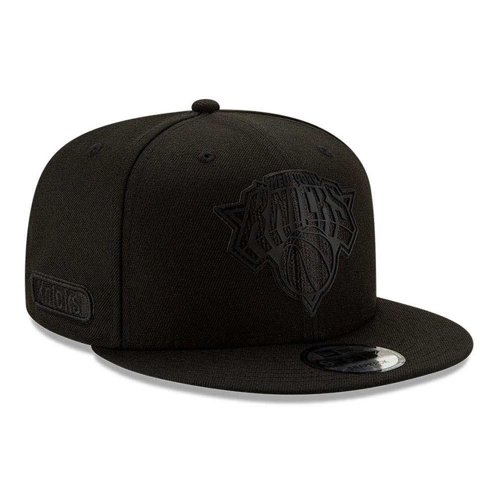 Cappellino 9FIFTY Half Black New York Knicks nero