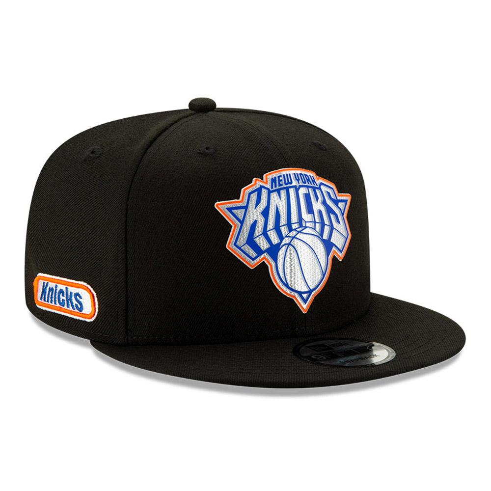 Cappellino 9FIFTY Back Half dei New York Knicks nero