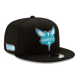 Charlotte Hornets Back Half Black 9FIFTY Cap