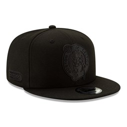 Boston Celtics Back Half All Black 9FIFTY Cap