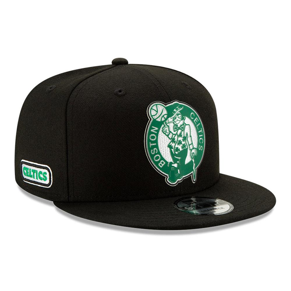 Cappellino 9FIFTY Back Half dei Boston Celtics nero