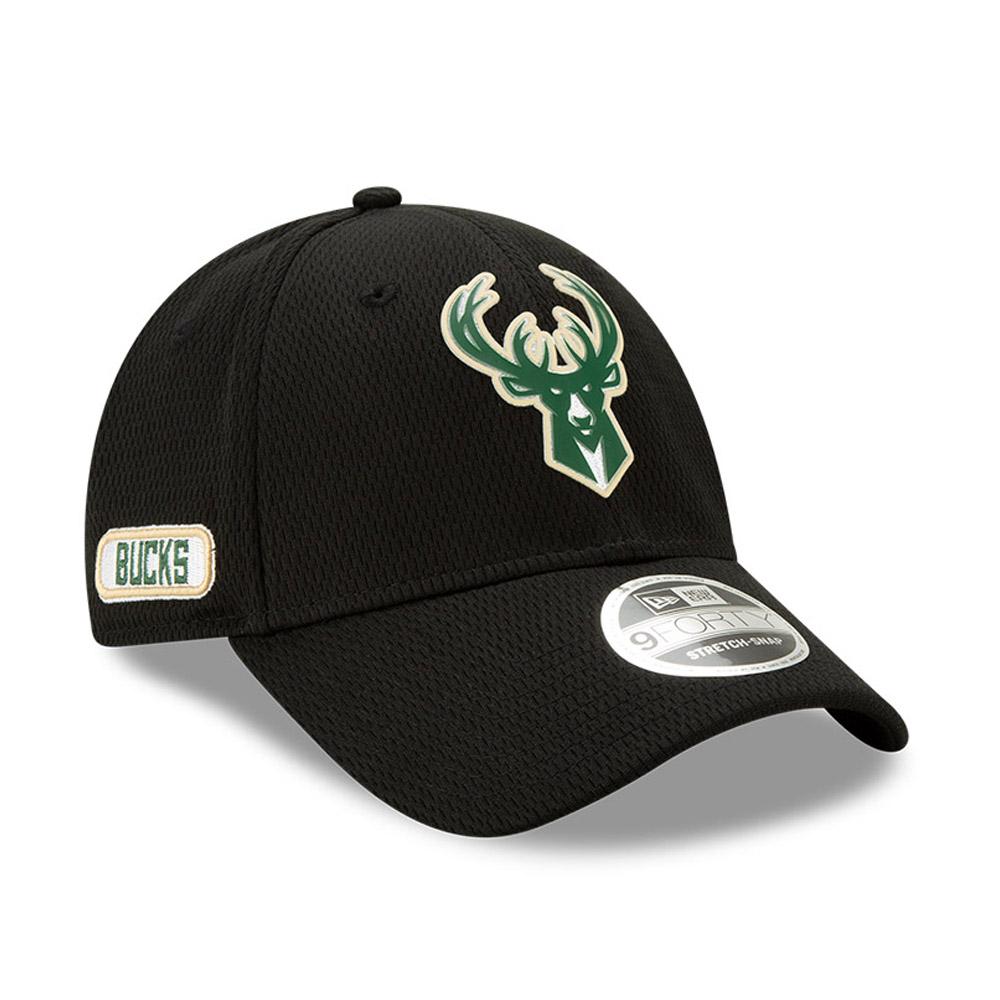 Milwaukee Bucks – Back Half 9FORTY-Kappe in Schwarz