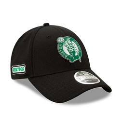 Casquette 9FORTY Back Half Stretch Snap des Boston Celtics, noir