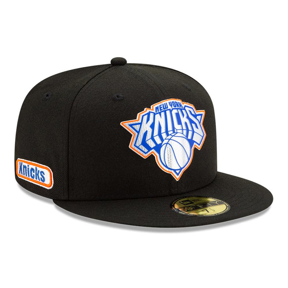Gorra New York Knicks Back Half 59FIFTY, negro