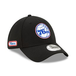 Philadelphia 76ERS Back Half Black 39THIRTY Cap