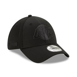 Los Angeles Lakers Back Half All Black 39THIRTY Cap