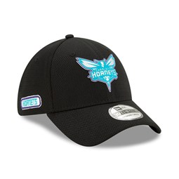 Charlotte Hornets Back Half Black 39THIRTY Cap