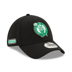 Casquette 39THIRTY Back Half noire des Boston Celtics