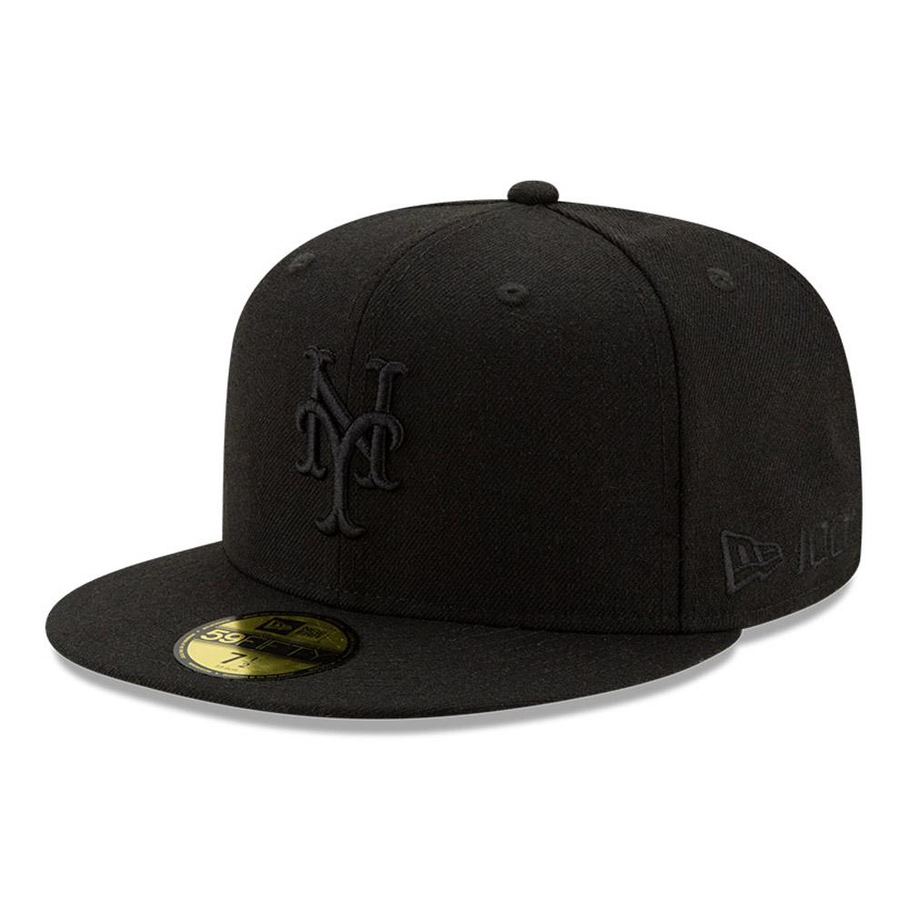 Cappellino 59FIFTY New York Mets 100 Years Black on Black