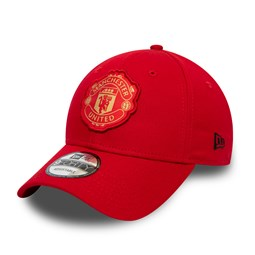 Gorra Manchester United FC 9FORTY, rojo