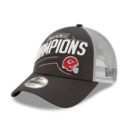 Kansas City Chiefs 2020 Conference Champions 9FORTY Snapback Cap