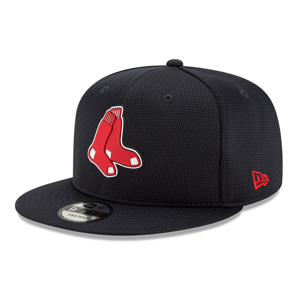Casquette bleu marine 9FIFTY Boston Red Sox Clubhouse