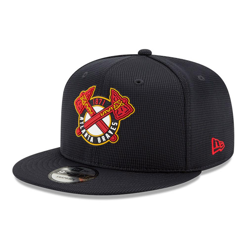 Cappellino 9FIFTY Clubhouse degli Atlanta Braves blu navy