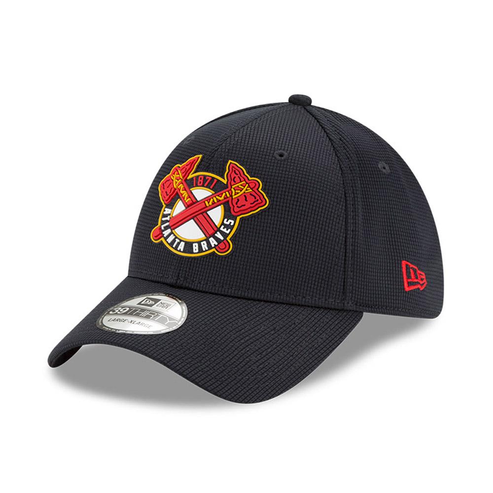 Cappellino 39THIRTY Clubhouse degli Atlanta Braves blu navy