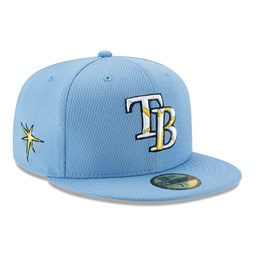 Gorra Tampa Bay Rays Batting Practice 59FIFTY, azul marino