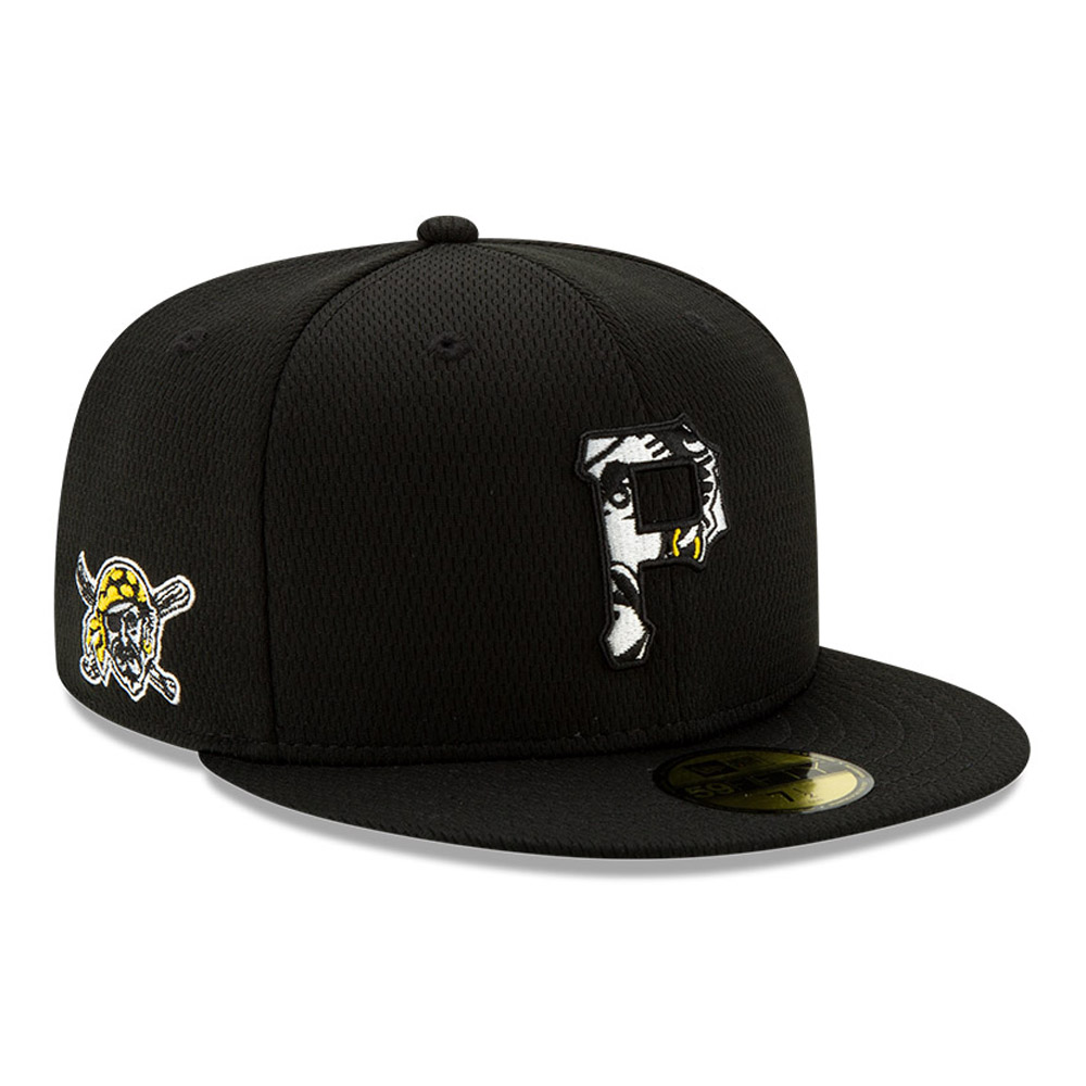Pittsburgh Pirates Black Batting Practice 59FIFTY Cap
