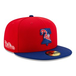Phladelphia Phillies Red Batting Practice 59FIFTY Cap