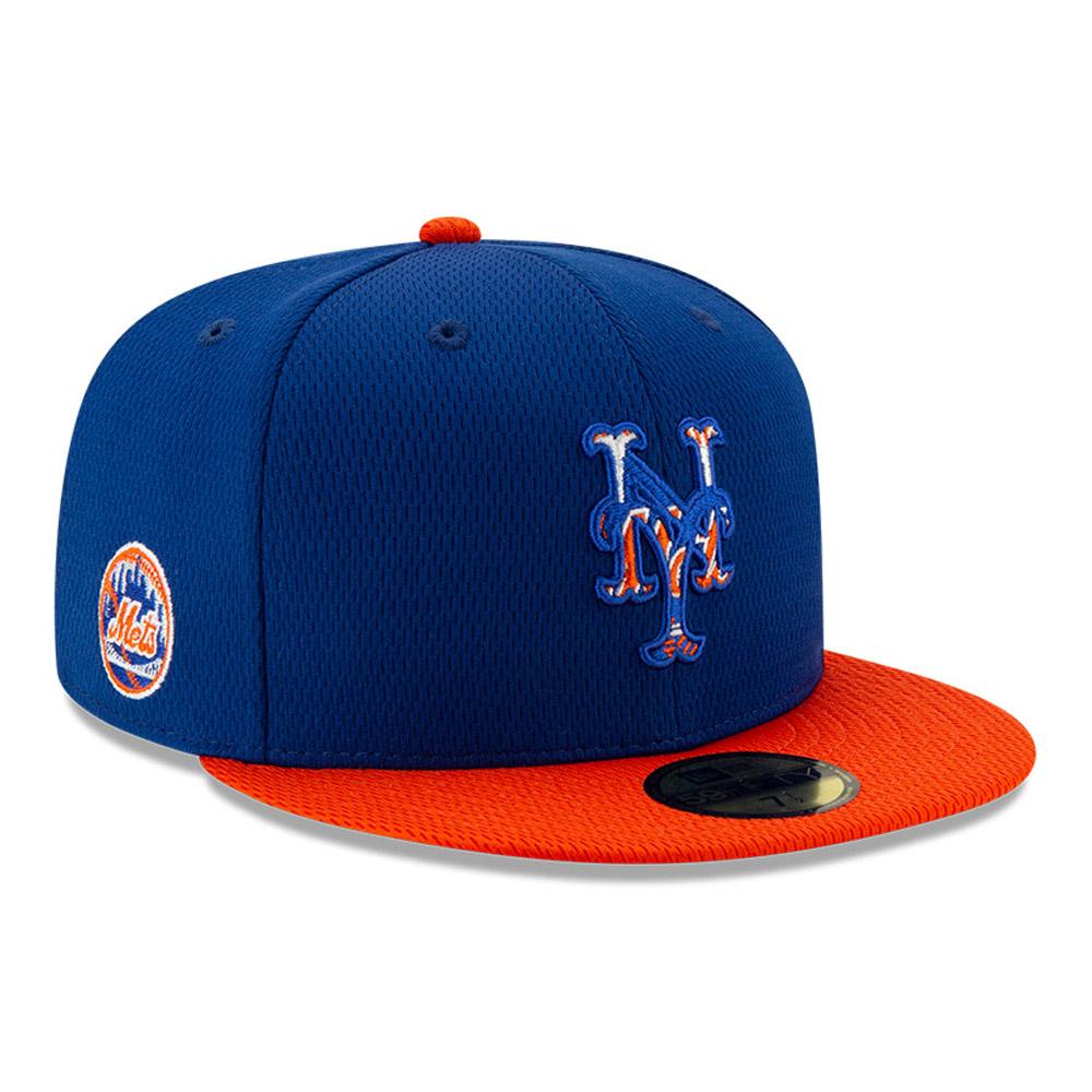 Cappellino 59FIFTY Batting Practice dei New York Mets blu