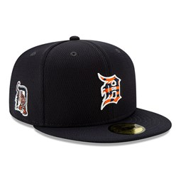 Casquette 59FIFTY Batting Practice Detroit Tigers, bleu marine