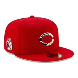 Casquette 59FIFTY Batting Practice Cincinnati Reds, rouge