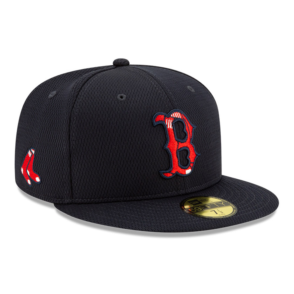 Boston Red Sox Navy Batting Practice 59FIFTY Cap